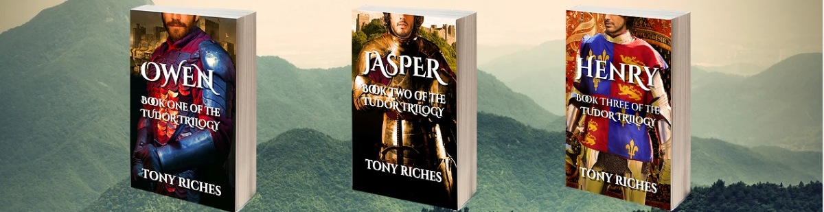 Guest blogger, Tony Riches