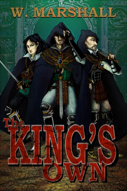 BookCover_The Kings Own