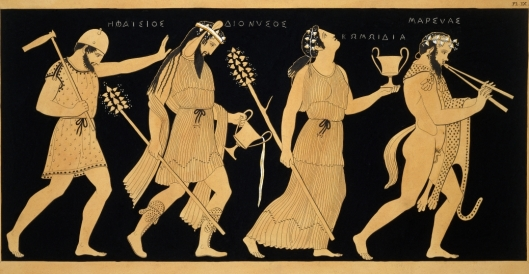 illustration-of-dionysus-and0three-figures-p
